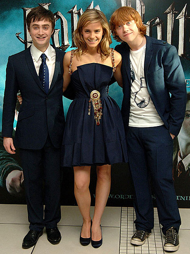 harry potter and the half blood prince daniel radcliffe emma watson