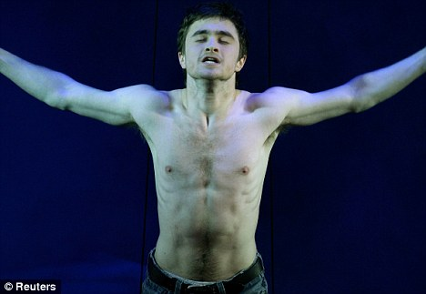 daniel radcliffe equus. daniel radcliffe west end and