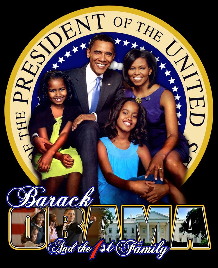 barack obama family. President Barack Obama and