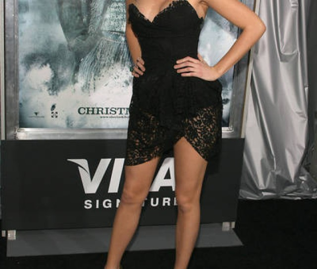 Blake Lively Sexy Legs Black Lace Dress The Idea Girl Says Word
