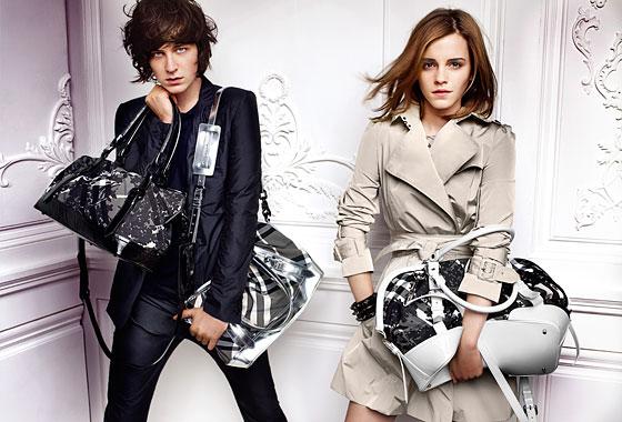 emma watson burberry brother. Emma Watson and George Craig