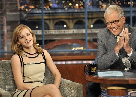 Emma Watson with David Letterman -Interview from 2009 » emma-watson