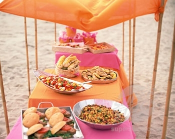 Spring Break For Teens BBQ Recipes Beach Party Food