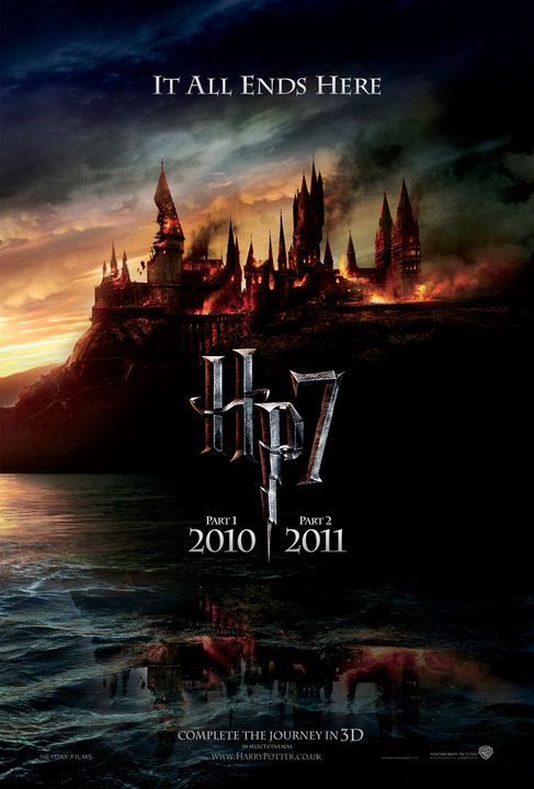 harry potter 7 poster. Harry Potter 7 part 1 2010