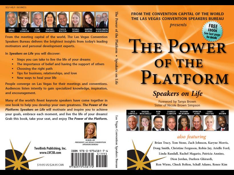 Linda Randall The Power of the Platform Speakers on Life - Full Cover Photo