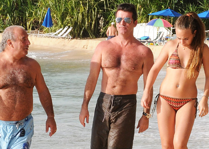 Simon Cowell S Christmas Vacation In Barbados The Idea Girl Says Word Press
