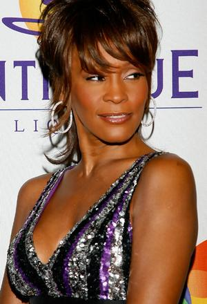 Clive Davis Pre-GRAMMY Party - Arrivals Whitney Houston