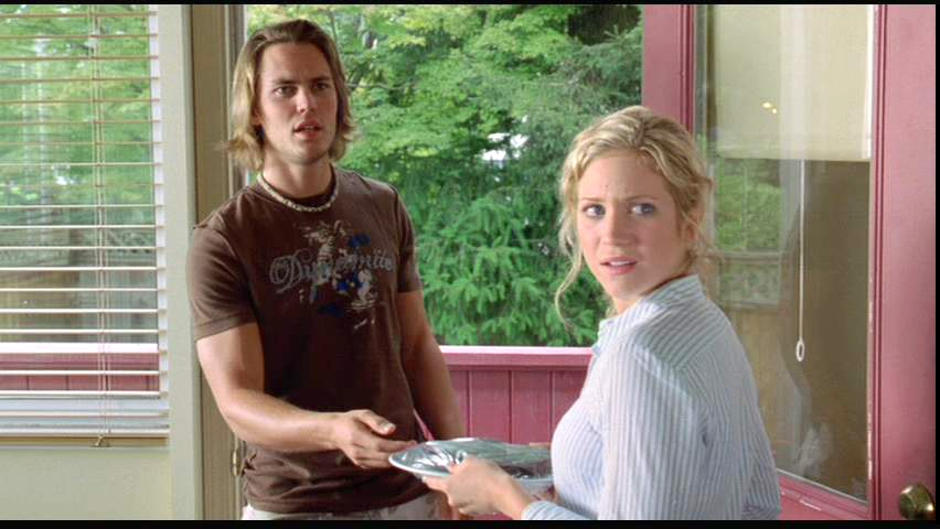 Taylor Kitsch as Justin with Brittany Snow in John Tucker ...