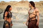 Taylor Kitsch  Lynn Collins Disney's John Carter Film March 2012 photo Frank Connor Walt Disney pictures