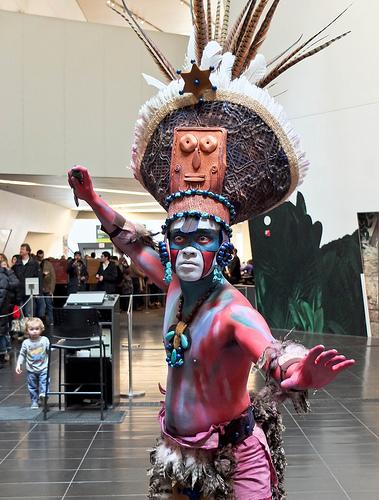 Mayan High Priest ROM toronto ontario canada march april 2012 exhibit