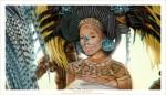 Rana Tourney has an alien ZAKA living inside of her Digital+painting+Mayan+Princess