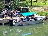 subway watersports boat tour turqouise bay resort roatan honduras