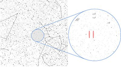 wow seti alien radio contact signal aug 15 1977 The location of the signal in the constellation Sagittarius, near the Chi Sagittarii star group.