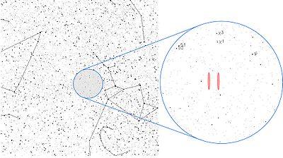 wow seti alien radio contact signal aug 15 1977 The location of the signal in the constellationSagittarius, near theChi Sagittarii star group.