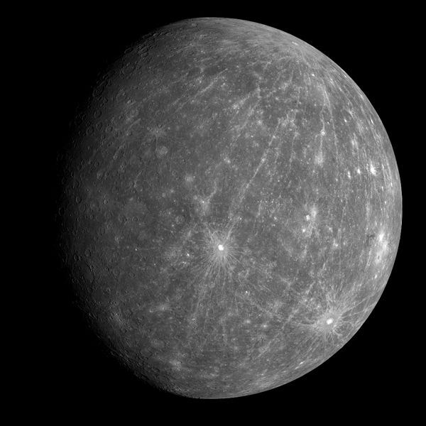planet mercury NASA photo