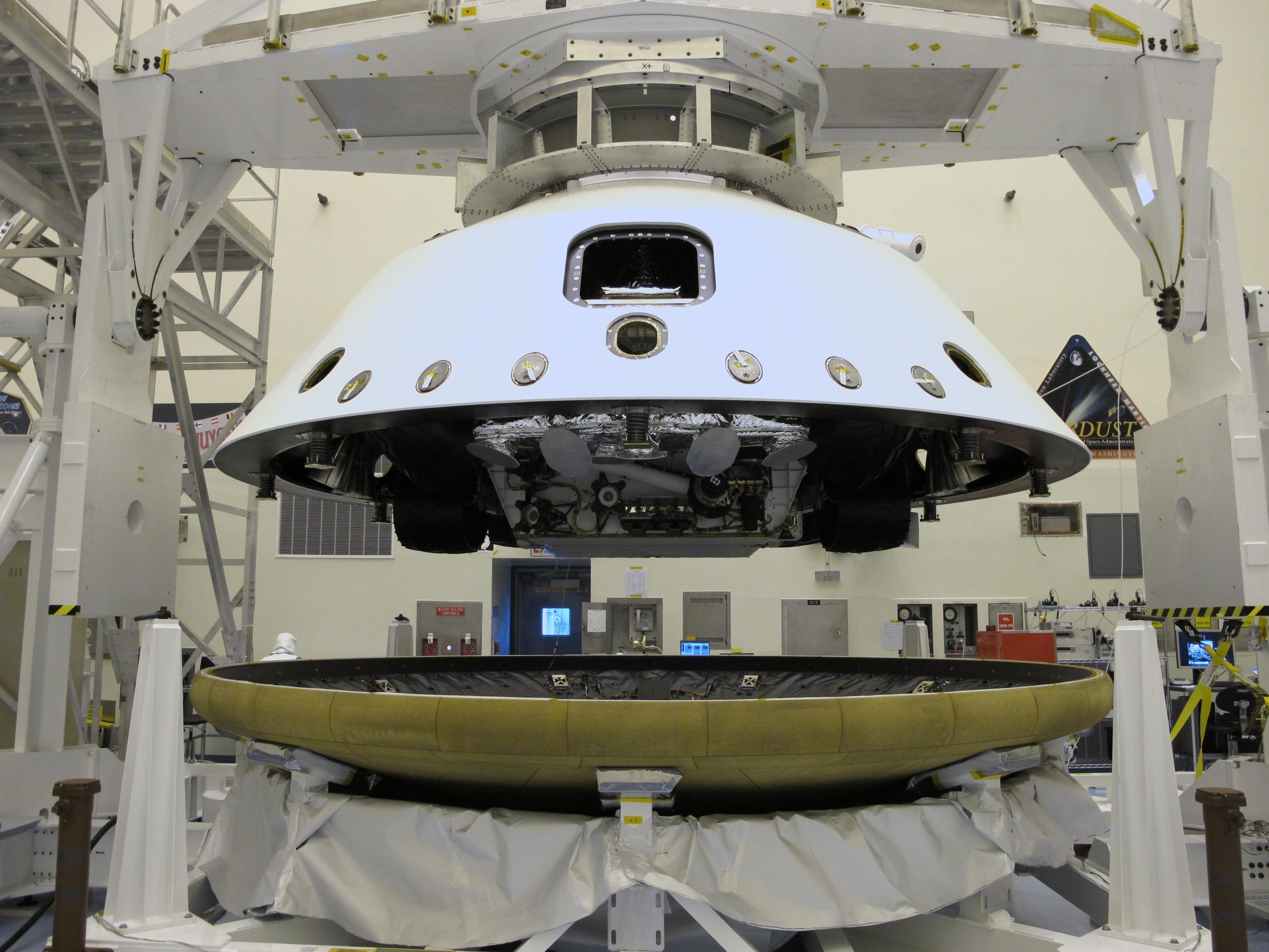 7 Minutes of Terror: Curiosity Rover's Risky Mars Landing |Video » NASA's Curiosity Mars Science Laboratory Rover lands on Mars in August2012