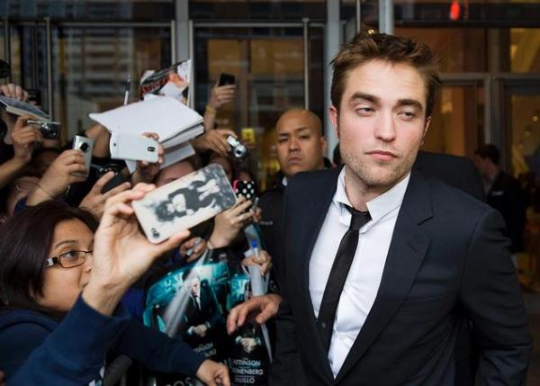 actor robert pattinson red carpet TIFF Bell Lightbox theatre Toronto screening new film Cosmopolis directed by David Cronenberg released 17 august 2012