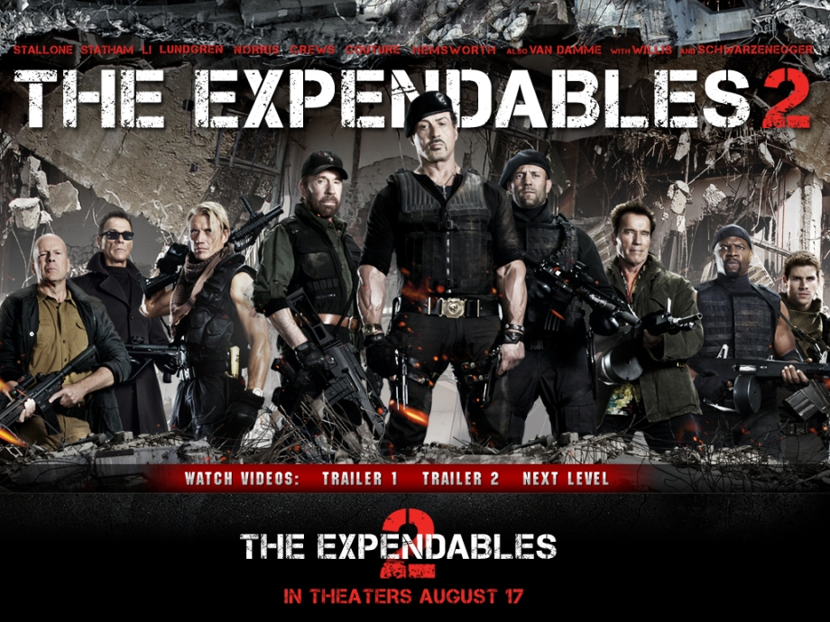 the expendables 2 -  17 august 2012