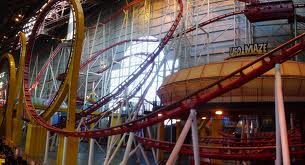 galaxy land roller coaster edmonton mall canada joe crawford fast ride live video feed