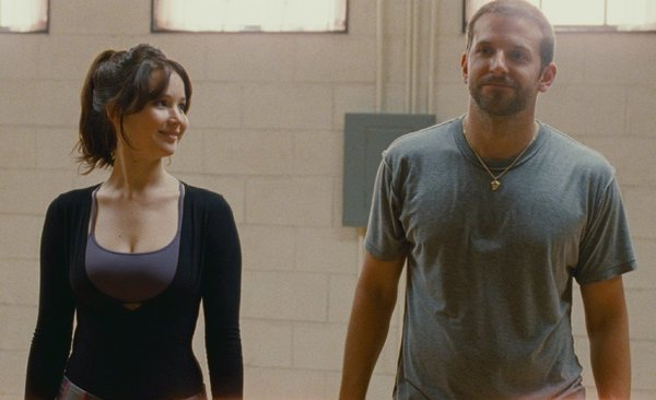 Jennifer Lawrence and Bradley Cooper in Silver Linings Playbook. (The Weinstein Co.) academy awards wins oscar 2013