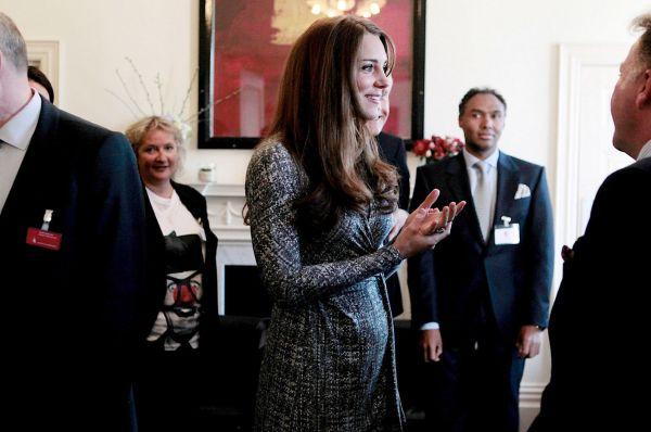 Kate Middleton visits Hope House in Clapham Baby Bump Pictures Feb 19 2013