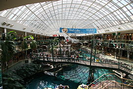 west edmonton mall - galaxy land roller coaster fast ride with joe crawford