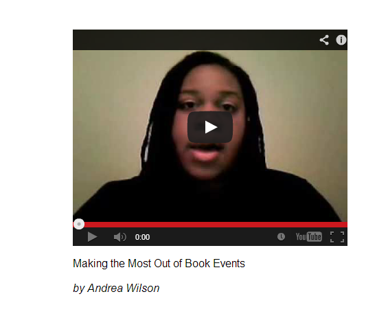 PROMODAY 2013 #PD13 Free Writers Webinar Making the MOst Out of Book Events by Andrea Wilson