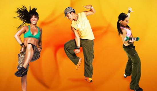 zumba dance weights muscles exercises men women children teens dance music playlist choreography