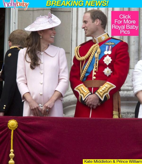 Kensington Palace Kate Middleton Royal Baby Boy Weighs