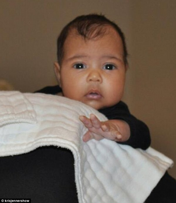 kim kardashian kanye west baby daughter north west born june 15 2013