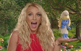 britney spears with smurfs 2 sound track characters movie 2013