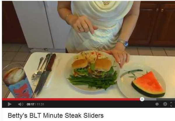 Betty's Kitchen BLT Minute Steak Sliders - YouTube recipes cooking meats buns vegetables lunch dinner entertaining the idea girl says delicious food!