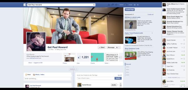 Facebook Get Paul Howard films Everything As Is Everything Twas 2013