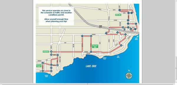 Transit route and schedule 2013 fort erie map jarvis st to crystal beach ridgeway niagara parkway ontario canada peace bridge travel tourism idea girl canada linda randall