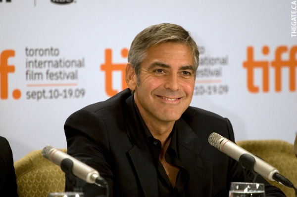 TIFF toronto international film festival 2009_George-Clooney film producer actor screen play writer