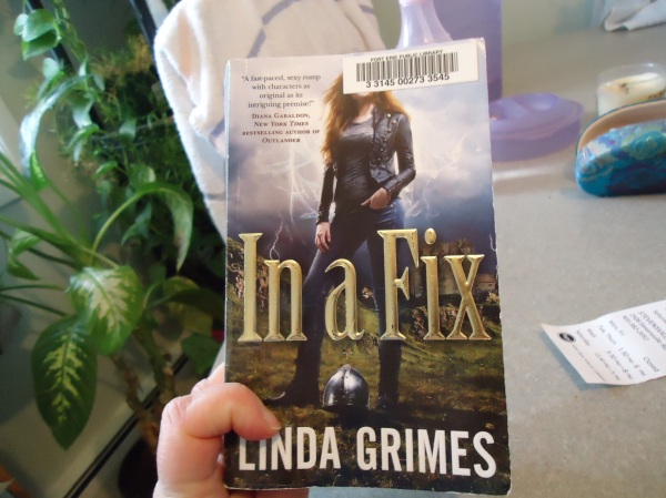 in a fix author  linda grimes - cool supernatural book linda randall writing blogging  the idea girl says