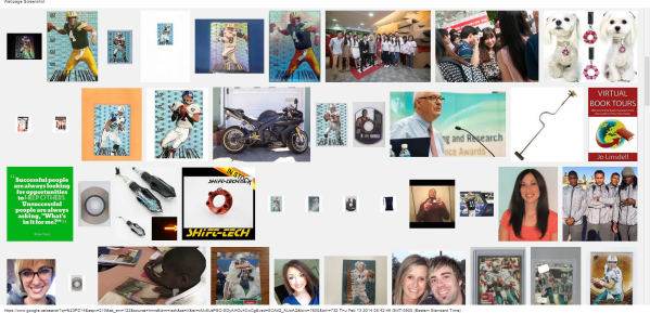 #PD14 - Google Search (1) Jo Lindsells photo and book virtual tours scroll down to bottom 13 feb 2014 linda randall