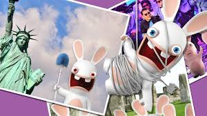 rabbids invasion cartoon YTV channel 25 (cogeco ontario canada)  saturdays 830 am est funny hysterical laughs the idea girl says family entertainment feb 22 2014 statue of liberty new york usa