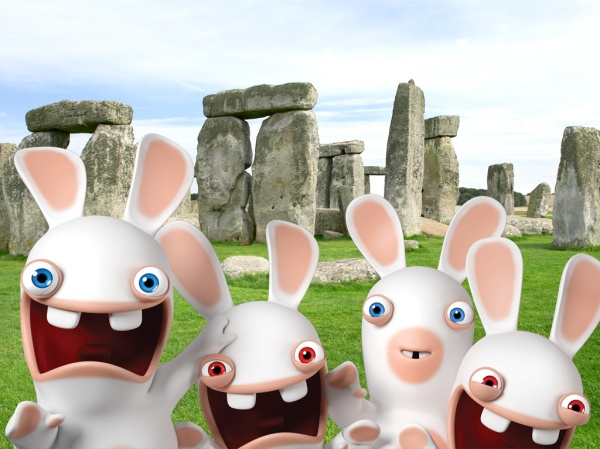 rabbids invasion cartoon YTV saturdays 830 am est funny hysterical laughs the idea girl says family entertainment feb 2014
