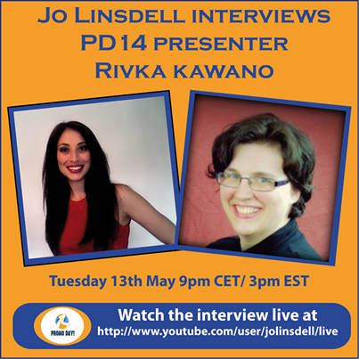 Interview with #PD14 #promoday2014 Presenter Rivka Kawano with Jo Linsdell - the idea girl says