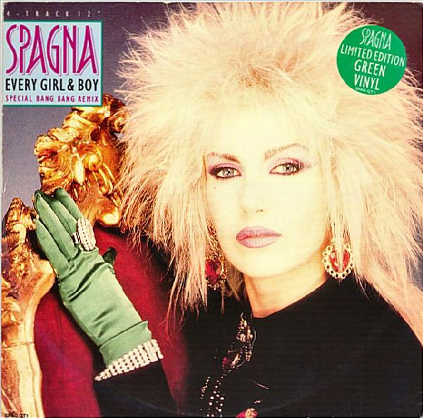 spagna every girl and boy 1980s pop culture dance hits - a avo de lady gaga - igc entertainment canada linda randall the idea girl