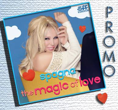 Spagna the magic of love album cover - igc entertainment canada linda randall the idea girl