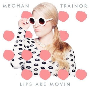 Meghan-trainor-lips-are-moving red lipstick bubble gum pop rock music songs  teens