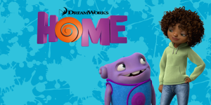 Home dreamworks film march 27, 2015 Rihanna, Jim Parsons, Jennifer Lopez, Steve Martin - Frozen audience love song Feel the Light