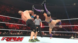john cena vs neville united states championship match may 11 2015 WWE monday night RAW TV Show maxresdefault