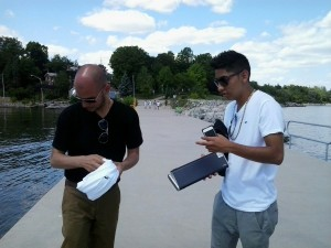 MC Sulek Frequency Records Rafael Lazo filming bachata spanish music video thinking of you in oakville ont canada