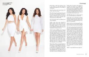 composure magazine WAGS Wives and Girlfriends of Sports Natalie Halcro, Nicole Williams, Olivia Pierson TV Series E!