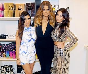 kardashians-dash-dolls- EI Khloe, Kourtney, Kim Kardashian, Kris Jenner